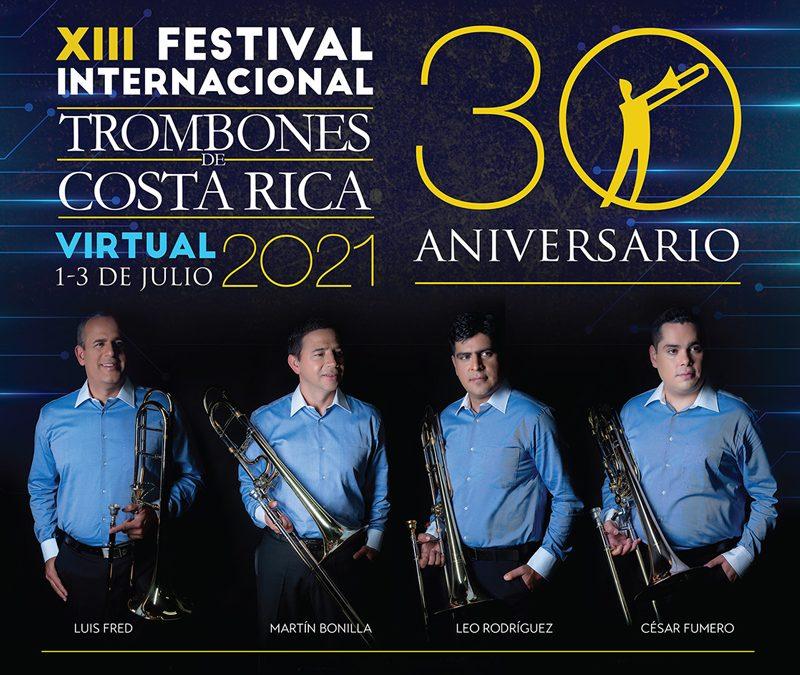 Trombones de Costa Rica inicia las celebración de su 30 aniversario